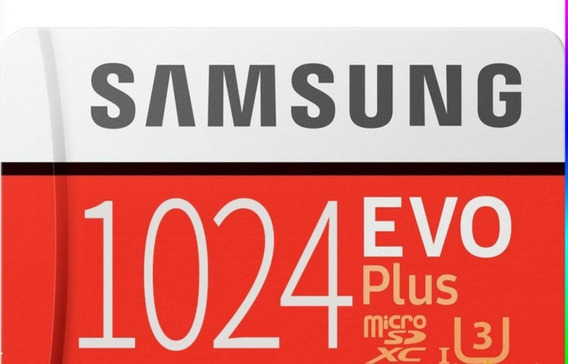 Micro Sd Samsung Evo Plus 1 Tera (grátis Leitor)