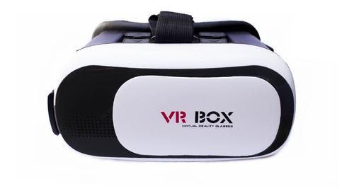 Lente Realidad Virtual 3d Vr Box Android iPhone Celular Jueg