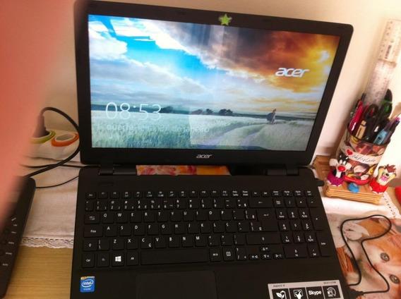 Notebook Acer Aspire E5-511 Semi Novo Com Caixa E Manual