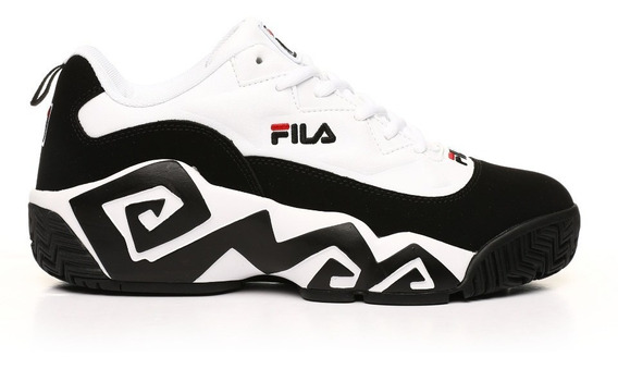 Tenis Fila Mb Low Negro/blanco 1bm00603 014