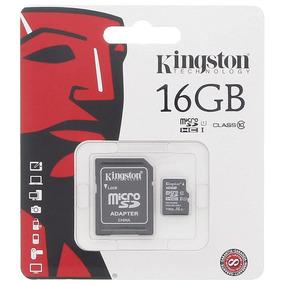 Cartão De Memória Micro Sd 16gb Classe 10 45mb/s - Kingston