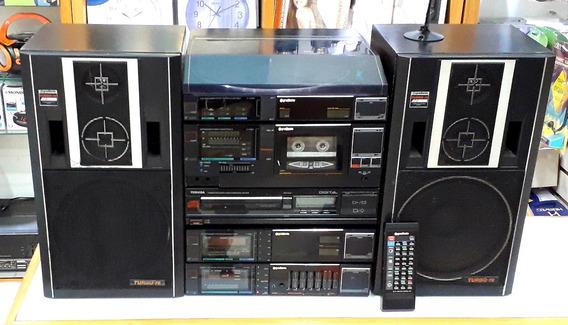 System Gradiente Energy Completo Com Toca Cd Toshiba