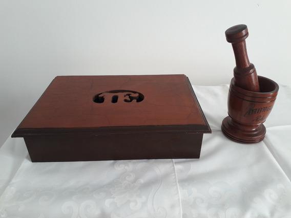 Byoeko Mortero y Maja de Mano de Granito Oscuro de 13 x 9 cm para m/últiples usos