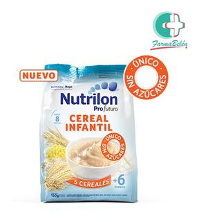 Nutrilon Cereal 5 Cereales 150g Sin Azucar +6 Meses