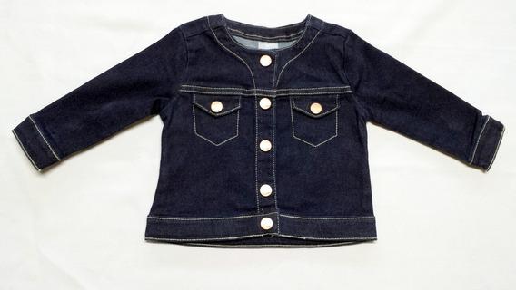Jaqueta Bebê Feminina Em Jeans Da Hering