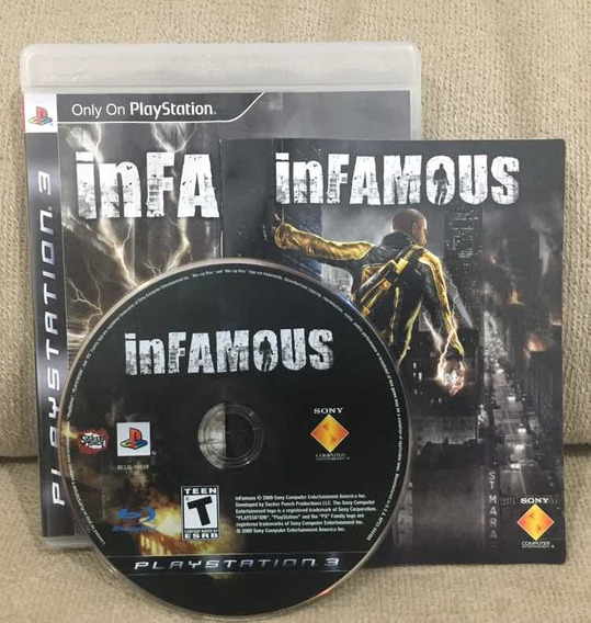 Infamous - Ps3 - Playstation 3
