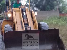 Pá Carregadeira Fiatallis 1500b - Ano 1984 - Transm. 28.000