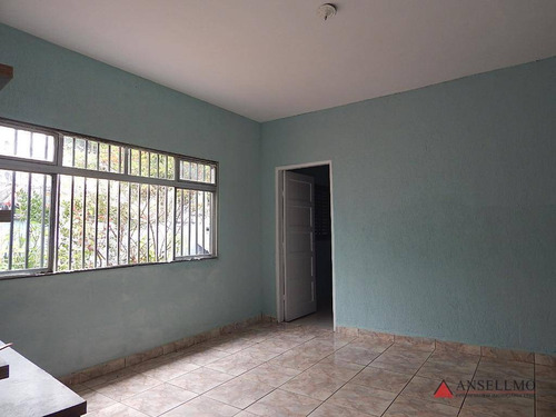 Casa Com 3 Dormitórios, 250 M² - Venda Por R$ 650.000,00 Ou Aluguel Por R$ 1.400,00/mês - Baeta Neves - São Bernardo Do Campo/sp - Ca0506