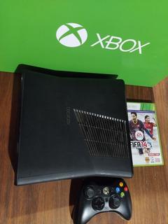 Xbox 360 Slim Original Sin Disco Rigido + Joystick + Fifa 14
