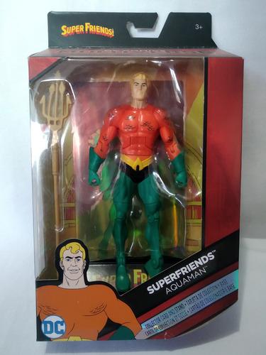 Imagen 1 de 2 de Aquaman Superfriends Super Amigos Multiverse Mattel