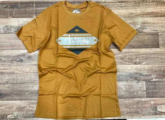 Camiseta Country Masculina Tatanka Mostarda Original