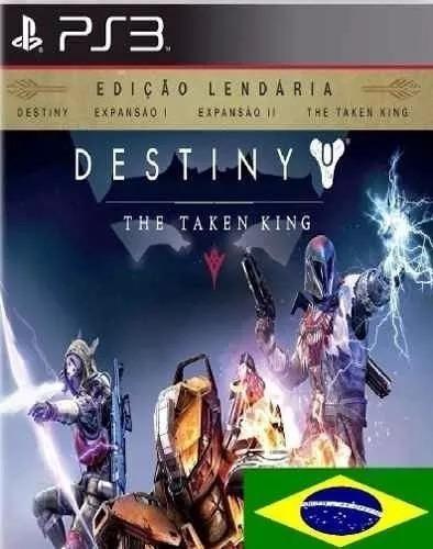 Destiny The Taken King Edição Lendária Ps3 Pt-br