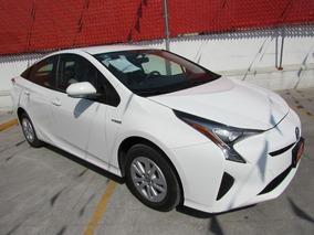 Toyota Prius Base 2016 Blanco Comonuevo 3 Años De Garantia