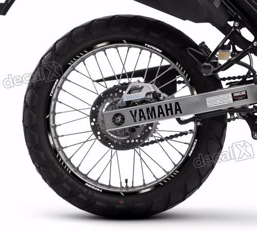 Kit Adesivo Friso Refletivo Roda Moto Yamaha Tenere 250 Fr54