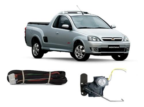 Imagem 1 de 4 de Kit Trava Caçamba Tragial Gmcm Gm Chevrolet Montana (todas)
