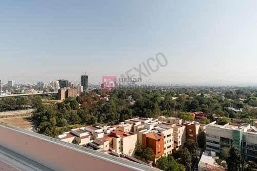 Amplio Departamento Con Excelente Ubicación Al Sur De La Ciudad De México