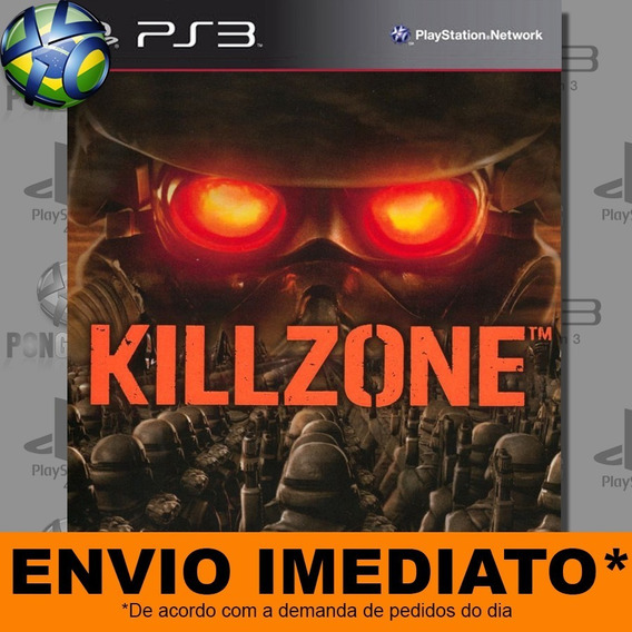 Jogo Ps3 Killzone Psn Play 3 Envio Digital