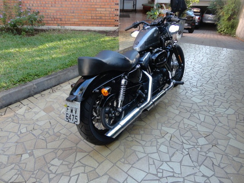 Harley Davidson 2014 Forty-eight 1200 C Prateada Customizada