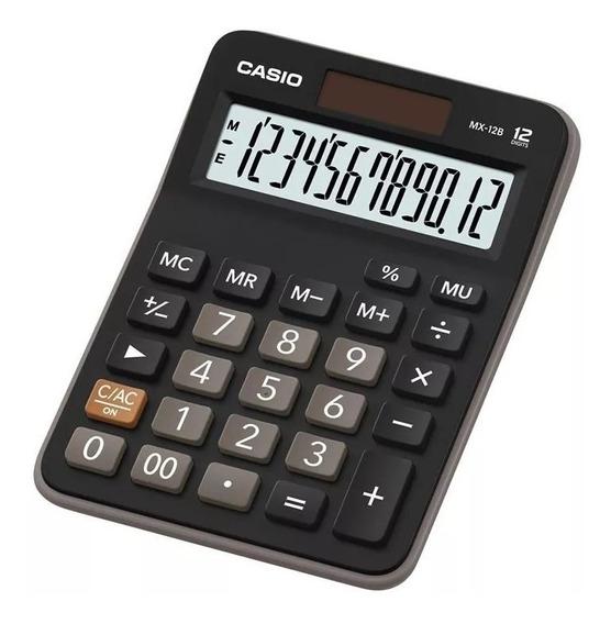 Calculadora De Mesa Casio 12 Digitos Mx 12b