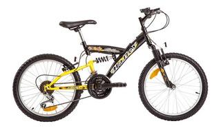 Bicicleta Mountain Bike Rod 20 Doble Suspension Halley 16335