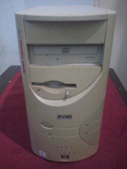 Cpu Xp Para Revisão (para Conserto) + Diskets