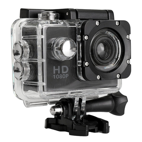 Camera Filmadora Prova D Água Sport Cam Hd Sport Capacete
