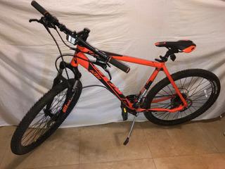 Bici Montain Bike Ktm Ultra Rodado 27,5 Aluminio + Inflador