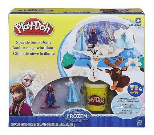 Play-doh Frozen Globo De Nieve Masa B0656 Hasbro Educando