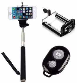 Bastão Extensor Para Selfie Fotografia Conexão Bluetooth