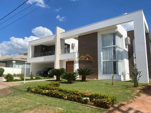 Casa Com 4 Dormitórios À Venda, 400 M² Por R$ 2.100.000,00 - Condomínio Terras De Mont Serrat - Salto/sp - Ca1761