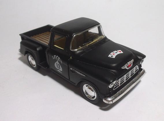 Lote 8 Pick Ups Chevy 1955 Stepside Custom 1/32