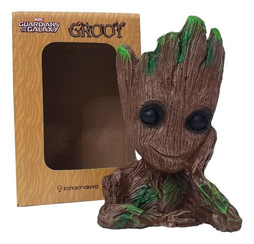 Baby Groot Marvel Porta Objeto Vaso Plantas Suculentas