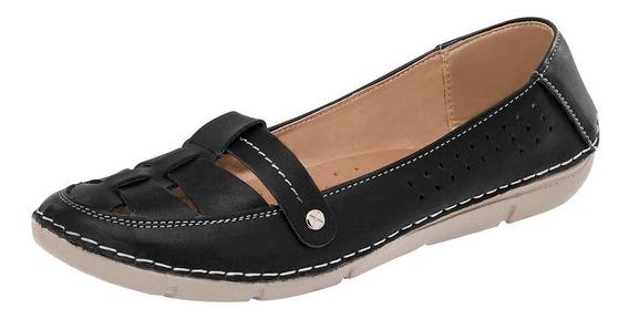 Flats De Mujer Negro 791-673