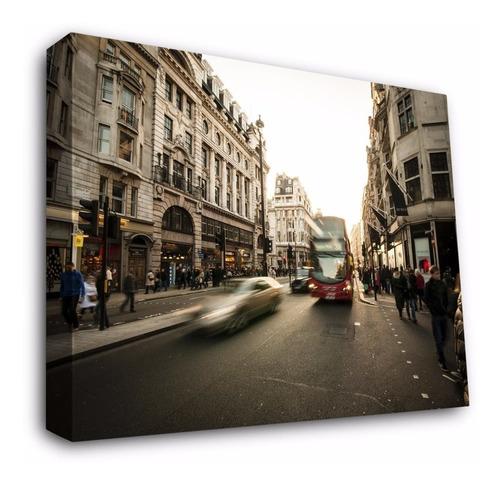 Cuadros Decorativos Moderno En Canvas Con Bastidor  Londres