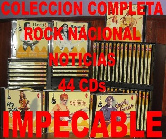 Rock Nacional 44cds - Coleccion Completa Revista Noticias