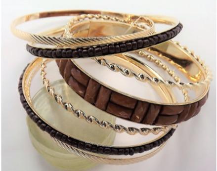 Bracelete Kit Moda