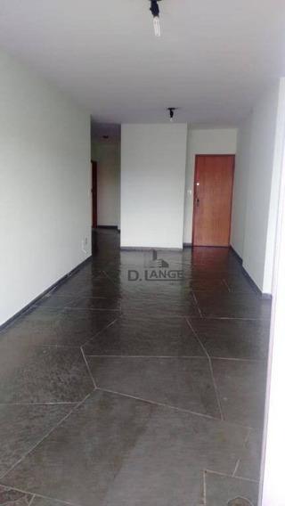 Apartamento Com 3 Dormitórios Para Alugar, 107 M² Por R$ 1.300/mês - Cambuí - Campinas/sp - Ap16583