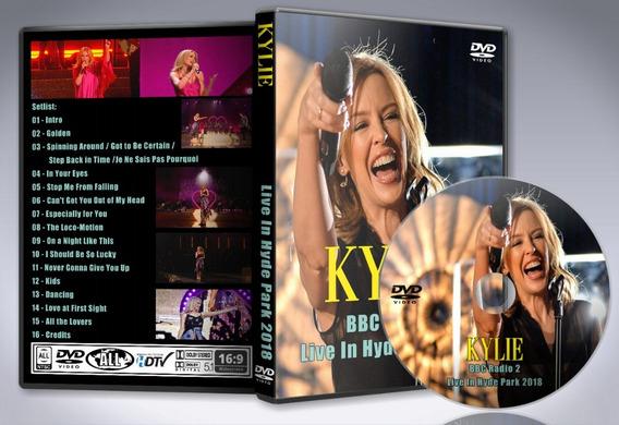 Dvd Kylie Minogue - Bbc Radio 2 Live In Hyde Park 2018