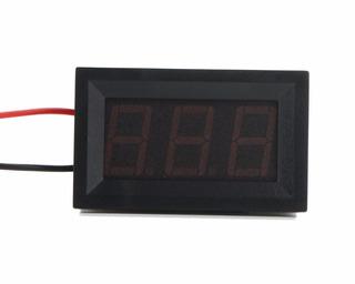 Voltímetro Digital Panel Led Rojo