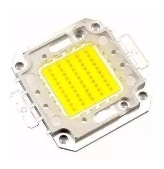 Chip 17grs Led 50w Premium, P/ Refletor, 100w 200w + 01pasta