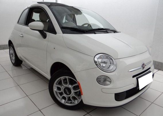 Fiat 500 1.4 Cult 8v Flex 2p Aut 2014 Branco Cod:.1011