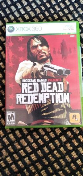 Mídia Física Do Jogo Red Dead Redemption Para O Xbox 360