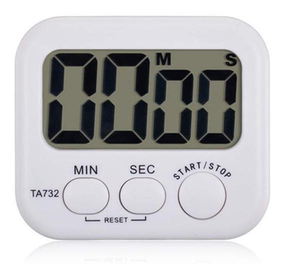 Timer Digital Reloj De Cocina Magnetico C Soporte Z Obelisco