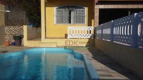 Imagem 1 de 4 de Casa Com 2 Dormitórios À Venda Por R$ 305.000,00 - Chácara Guanabara - Guararema/sp - Ca5380