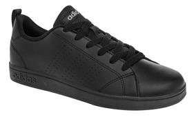 Tenis adidas Aw4883 Advantage Clean Negro Unisex