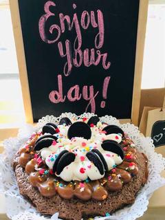 Torta Boutique Brownie Oreos Cumpleaños - La Plata
