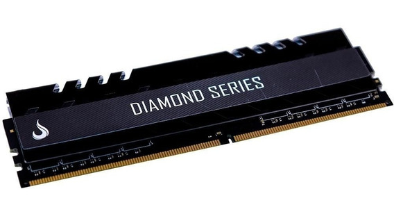 Memória Ram Diamond Series Black 8gb 3000mhz Rise Mode