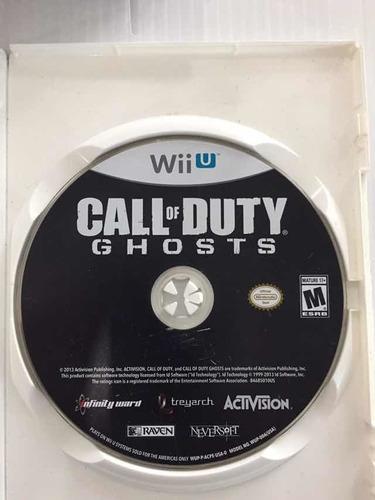 Call Of Duty Ghosts Nintendo Wii U