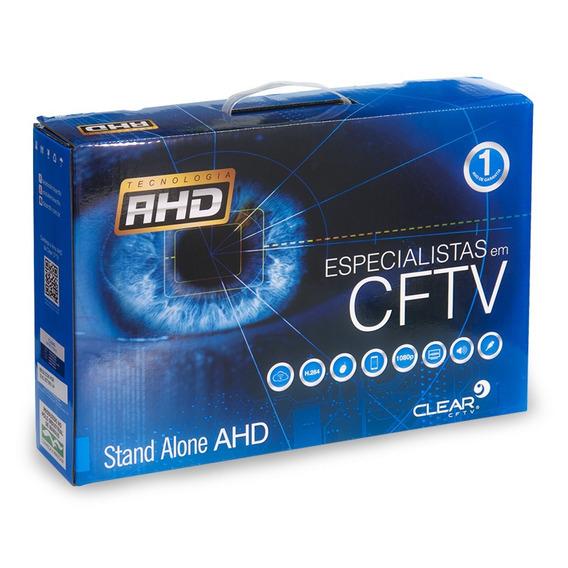 Kit Stand Alone Dvr 4 Canais+ Hd 1tb