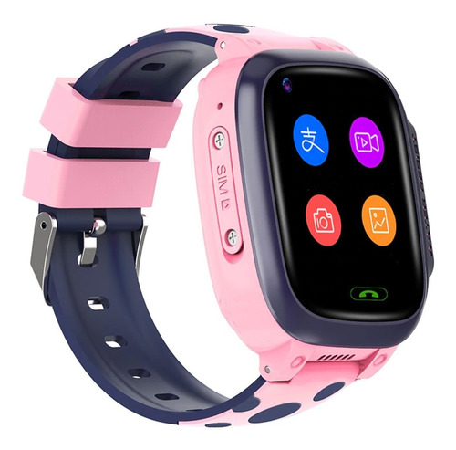 Imagen 1 de 8 de Smartwatch Gps Kids 4g Fralugio Videollamada Fotos Sos 4gb